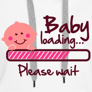 Baby loading - please wait Tröjor - Premiumluvtröja dam