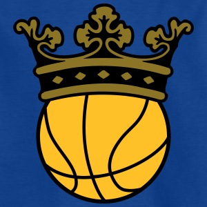 basketball crown Shirts - Teenage T-shirt