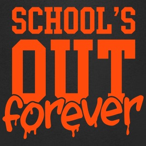 school's out forever T-Shirts - Men's V-Neck T-Shirt