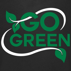 go green T-Shirts - Men's V-Neck T-Shirt