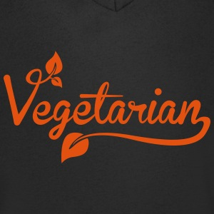 vegetarian T-Shirts - Men's V-Neck T-Shirt