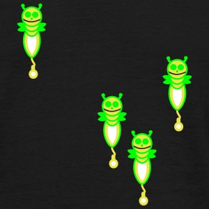 four funny fireflies - Men's T-Shirt