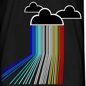 rainbow cloud T-shirts - T-shirt herr