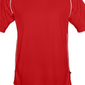 Red/white heart_3 Bags  - Men's Football Jersey