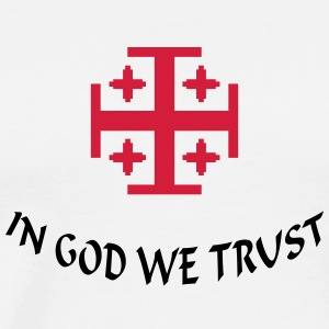 In God we trust (1c) T-Shirts - Men's Premium T-Shirt