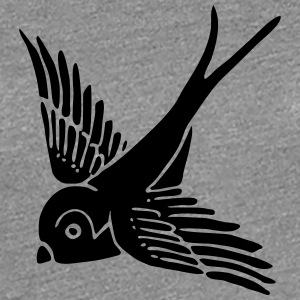 swallow bird summer wings holiday spring fly T-Shirts - Women's Premium T-Shirt