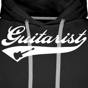 Guitarist Sweat-shirts - Sweat-shirt à capuche Premium pour hommes