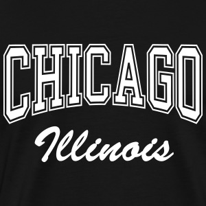 chicago_illinois T-Shirts - Männer Premium T-Shirt