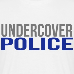 undercover police T-shirts - T-shirt herr
