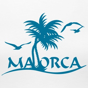 Mallorca-Palmen / Mallorca with palm trees (1c) T-Shirts - Women's Premium T-Shirt