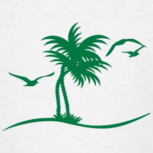 Palmen / palm trees (1c) Shirts - Teenage T-shirt