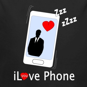 iLove you Phone Sweaters - Baby bio-rompertje met lange mouwen