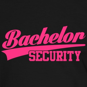 bachelor security T-Shirts - Männer Kontrast-T-Shirt