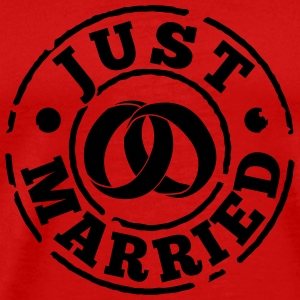 just_married T-Shirts - Men's Premium T-Shirt