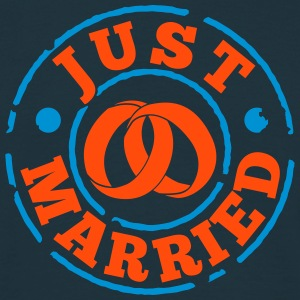 just_married T-Shirts - Men's T-Shirt