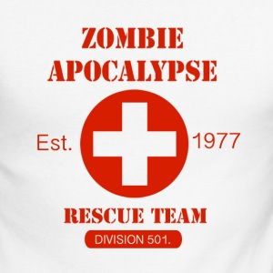 Zombie Apocalypse Rescue Team Tee shirts manches longues - T-shirt baseball manches longues Homme