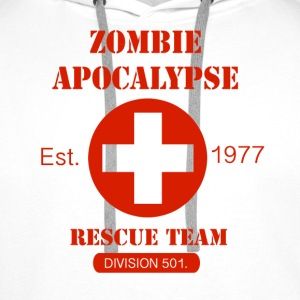 Zombie Apocalypse Rescue Team Sweat-shirts - Sweat-shirt à capuche Premium pour hommes
