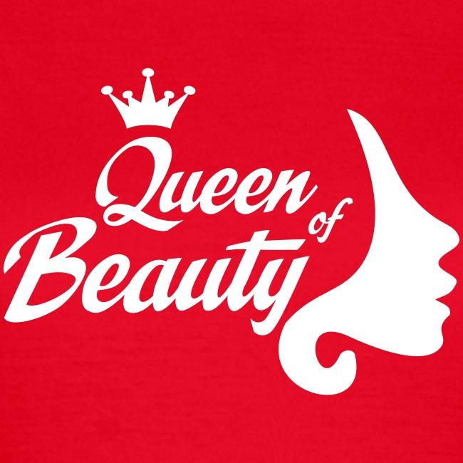 Queen of Beauty - Frauen T-Shirt - Schönheitskönigin (md)