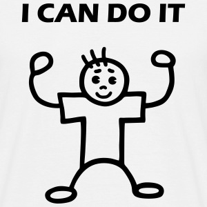 I CAN DO IT - man T-Shirts - Men's T-Shirt