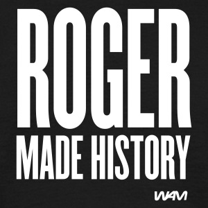 Noir roger made history T-shirts - T-shirt Homme
