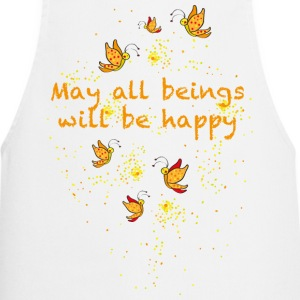 May all beings will be happy Forklær - Kokkeforkle
