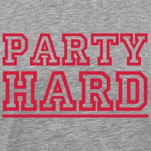 PARTY HARD T-Shirts - Männer Premium T-Shirt