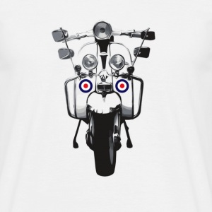 Mod Scooter T-Shirts - Men's T-Shirt