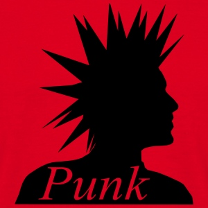Punk Head T-shirts - Mannen T-shirt