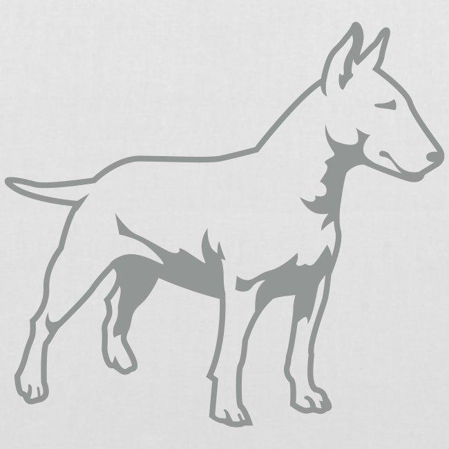 Koira-kangaskassi Bullterrieri