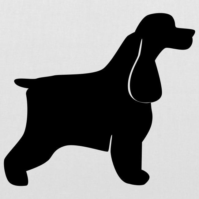 Koira-kangaskassi cocerspanieli