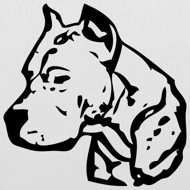 Koira-kangaskassi dogoargentino
