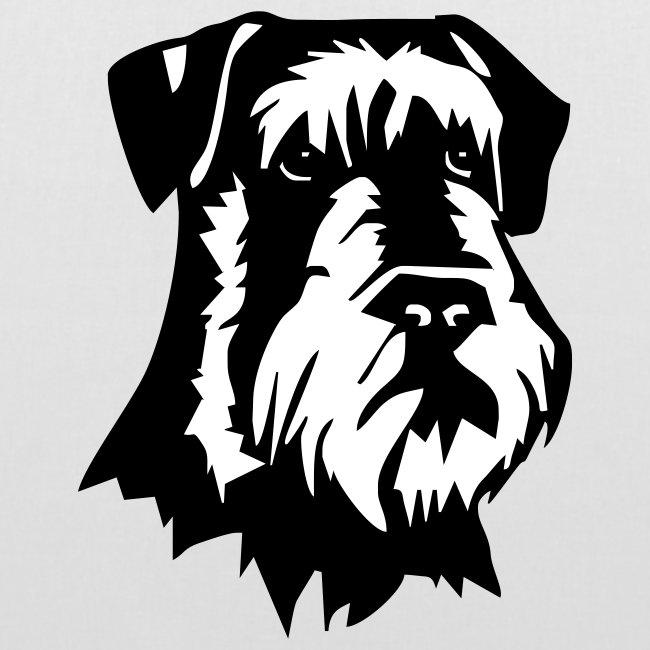 Koira-kangaskassi snautzer
