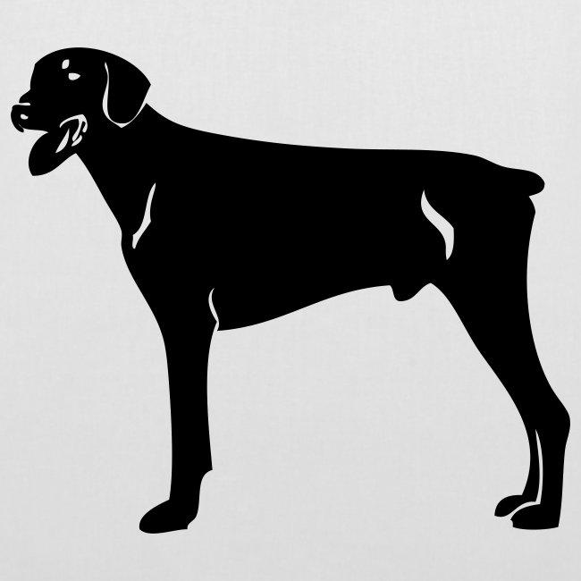 Koira-kangaskassi dopermanni
