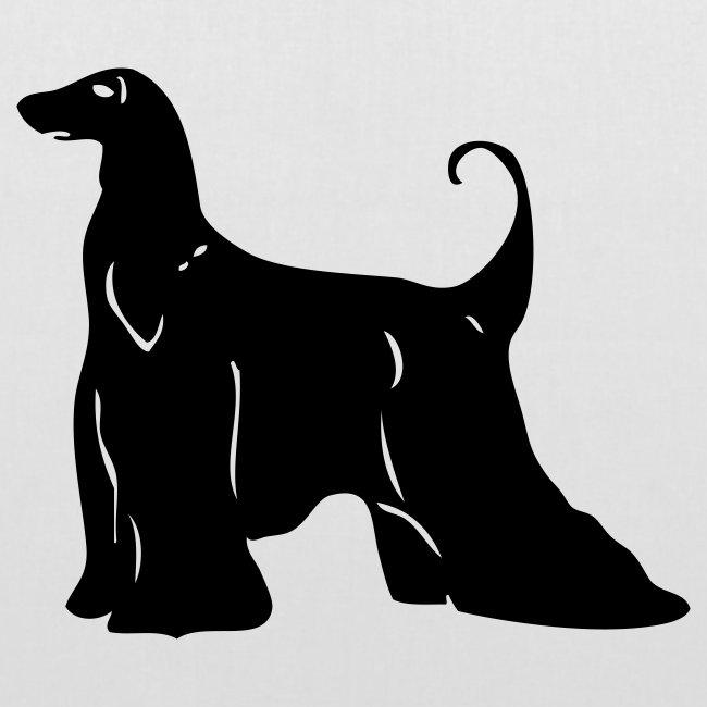 Koira-kangaskassi afgaaninvinttikoira