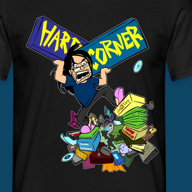 Hard Corner Cartoon