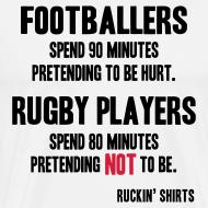 Design ~ Footballers Pretend to Be Hurt