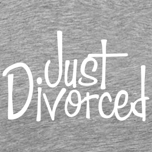 Just Divorced - Männer Premium T-Shirt