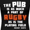 The Pub is a Part of Rugby - Women's Premium T-Shirt