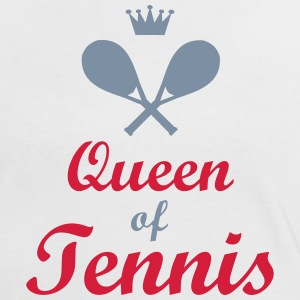 tennis - Frauen Kontrast-T-Shirt