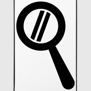 magnifying glass bold Phone & Tablet Cases - iPhone 4/4s Hard Case