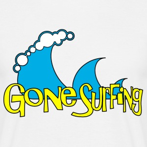 Gone Surfing Tee shirts - T-shirt Homme