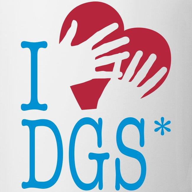 "Tasse ""I love DGS"""