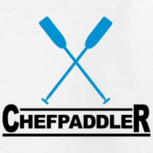 Chefpaddler Drachenboot paddeln Kanu Outrigger 2c T-Shirts - Teenager T-Shirt