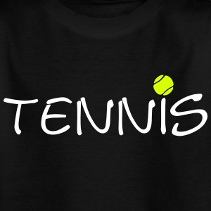 Tennis ball tennis ball racket sports 2c Shirts - Kids' T-Shirt