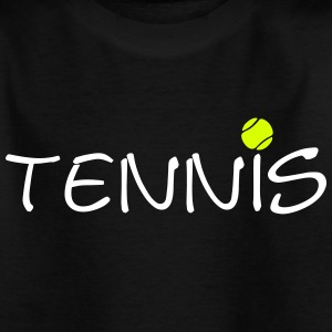 Tennis ball tennis ball racket sports 2c Shirts - Teenage T-shirt