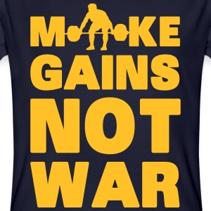 Make Gains Not War Tee shirts - T-shirt bio Homme