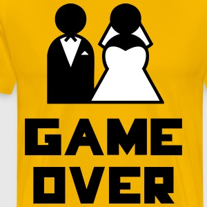 Game Over Tee shirts - T-shirt Premium Homme