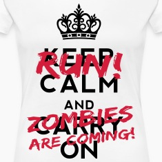 Zombies Are Coming Camisetas