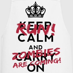 Zombies Are Coming  Aprons - Cooking Apron