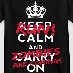 Zombies Are Coming Camisetas - Camiseta adolescente